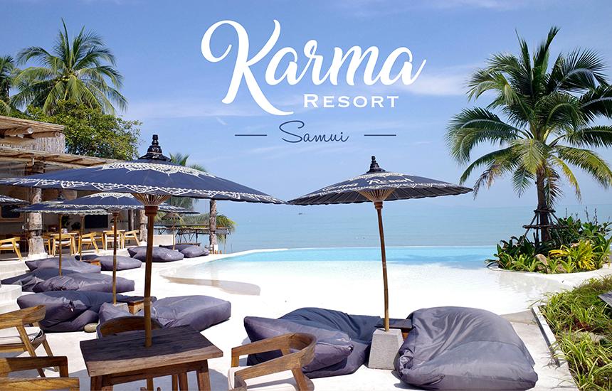 Karma Resort ที่พักสไตล์บาหลีที่เกาะสมุย มุมถ่ายรูปเพียบ สวยถูกใจสายถ่ายภาพ