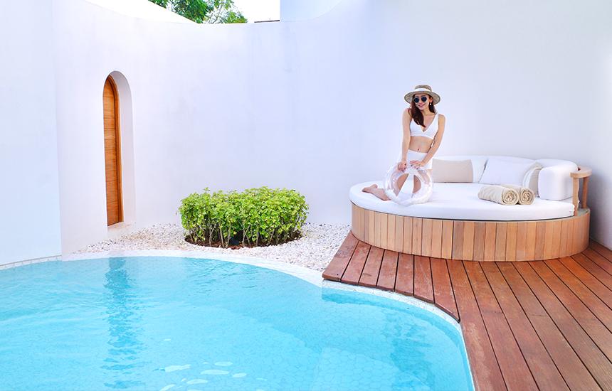 บีพัก Garden wing pool villa