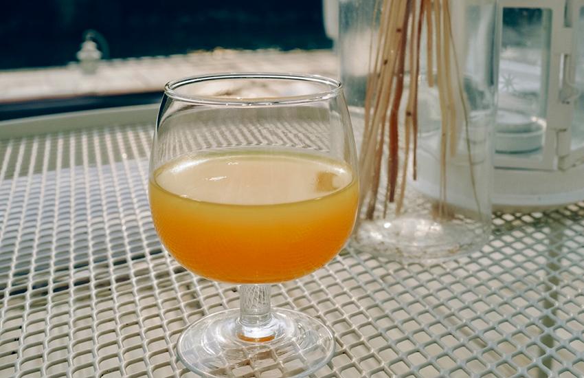 น้ำส้มเย็นชื่นใจ