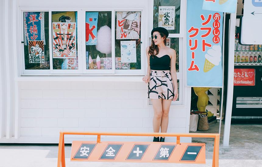 มุมร้านไอติมน่ารักๆ ได้ฟีลญี่ปุ่นที่สุดเลย