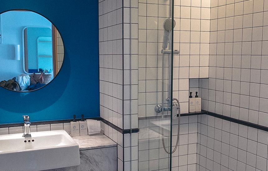ห้องน้ำไม่ใหญ่มาก แยกโซนเปียก-แห้ง